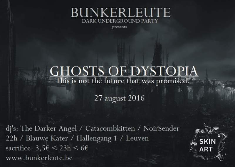 BUNKERLEUTE - GHOSTS OF DYSTOPIA, Blauwe Kater