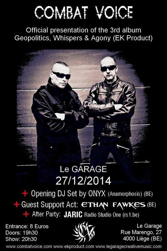 COMBAT VOICE Live, Le Garage, 27/12/2014