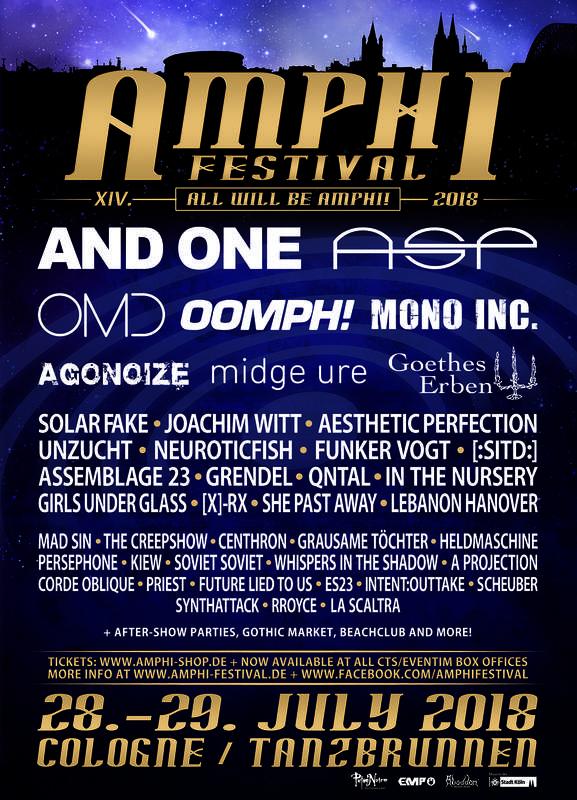 AMPHI FESTIVAL XIV, Amphi Eventpark / Tanzbrunen