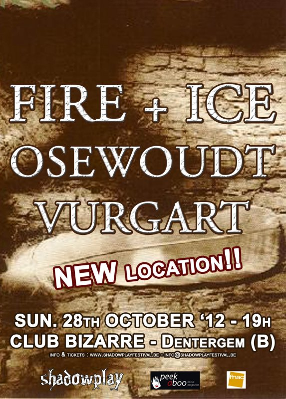 FIRE + ICE - OSEWOUDT - VURGART, Club Bizarre, Dentergem