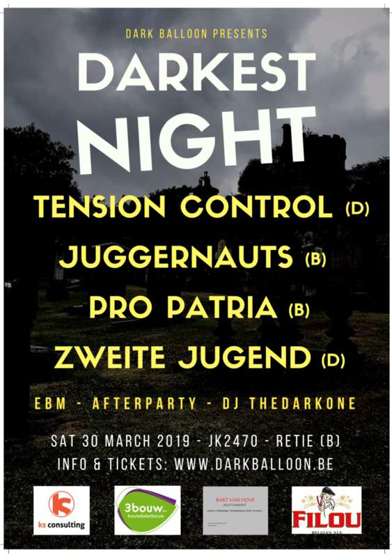 DARKEST NIGHT 2019, Jk2470 Retie