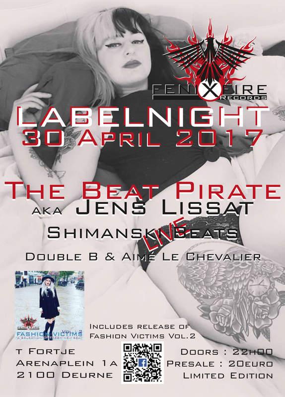 NEW BEAT IS BACK! FENIXFIRE LABELNIGHT II, Arena (cellars), 30/04/2017