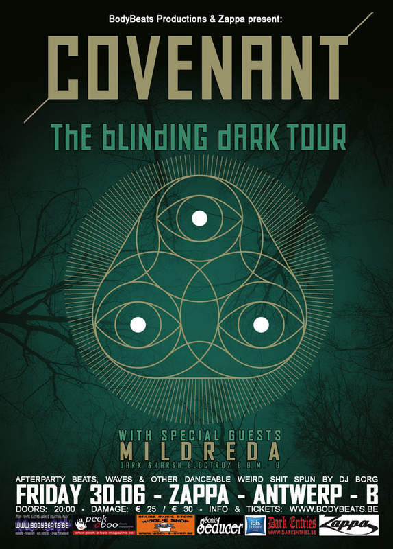 COVENANT - THE BLINDING DARK TOUR 2017, Zappa, 30/06/2017