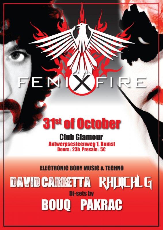 FENIXFIRE, Club Glamour, Rumst