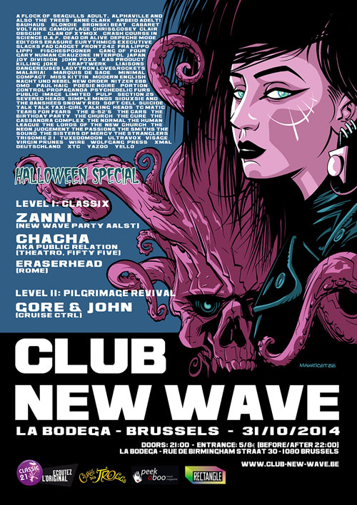 CLUB NEW WAVE - EPISODE 12 - HALLOWEEN SPECIAL, La Bodega, Brussels