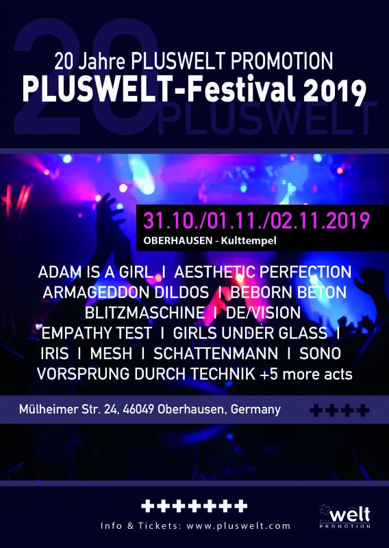 PLUSWELT FESTIVAL 2019, Kulttempel