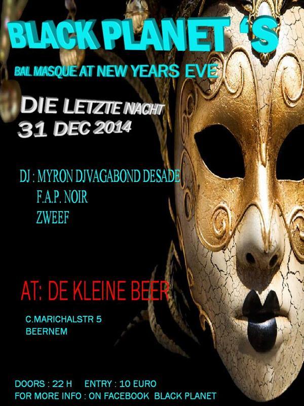 DIE LETZTE NACHT, De Kleine Beer, Beernem
