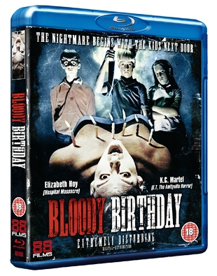 NEWS 88 Films releases cultclassic Bloody Birtday on Blu-ray