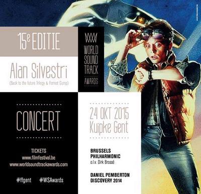 NEWS Alan Silvestri at the 15th World Soundtrack Awards