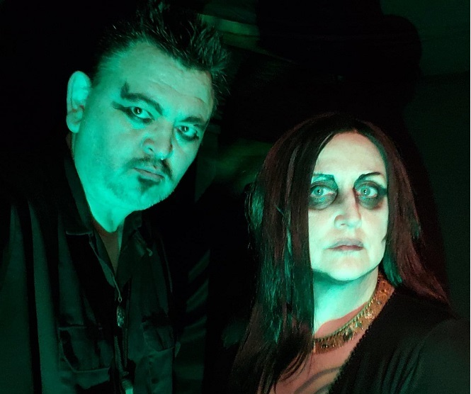 NEWS Alaskan Dark Punk/Death Rock Duo, CLIFF AND IVY Bring The Night With New EP!