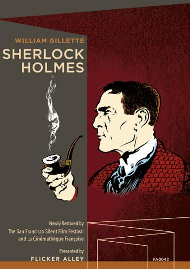 NEWS Announcing Sherlock Holmes (1916) | Long-Lost Film Rediscovered & Newly-Restored for Blu-ray/DVD