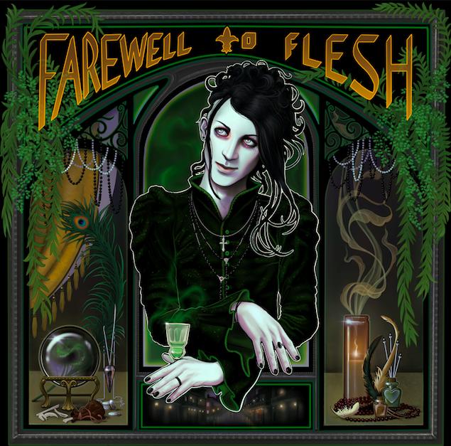 22/02/2021 : ANTHONY JONES - Farewell To Flesh