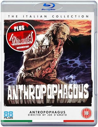 NEWS ANTHROPOPHAGOUS forthcoming worldwide HD debut from 88 Films