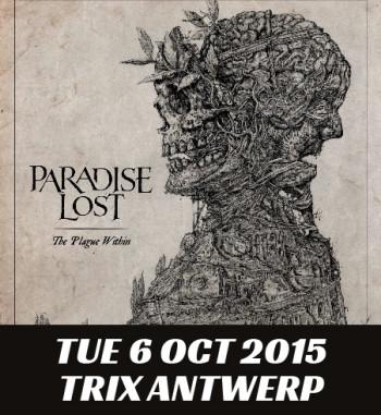 11/10/2015 : PARADISE LOST - Antwerp, Trix (10/06/2015)