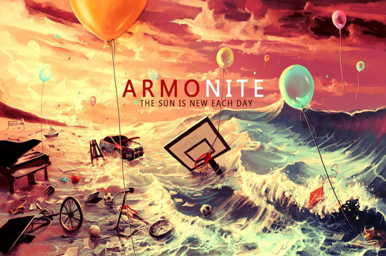 14/08/2015 : ARMONITE - The Sun is New Each Day