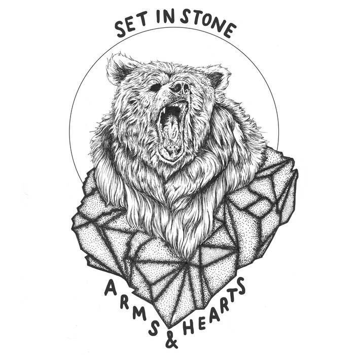 27/12/2015 : ARMS & HEARTS - Set in Stone