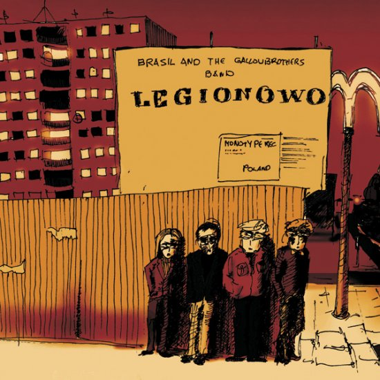 10/06/2011 : BRASIL AND THE GALLOWBROTHERS BAND - Legionowo