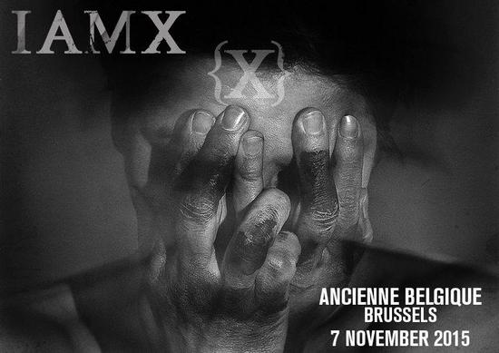 09/11/2015 : IAMX - Brussels, AB (07/11/2015)