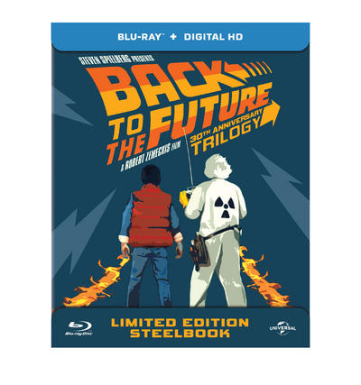 NEWS Back To The Future 30th anniversary trilogy