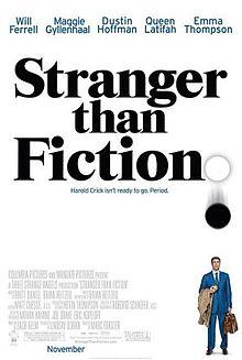 23/08/2015 : MARC FORSTER - Stranger Than Fiction