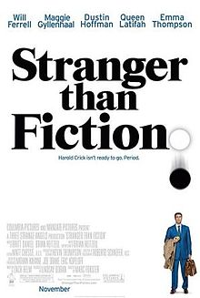 23/08/2015 : MARC FORSTER - Stranger Than Fiction