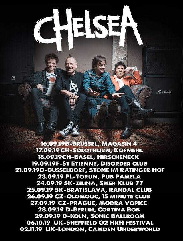 NEWS CHELSEA announce European Tour in September