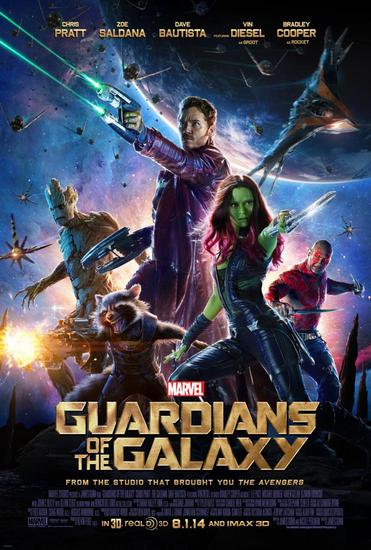 20/08/2014 : JAMES GUNN - CINEMA: Guardians Of The Galaxy