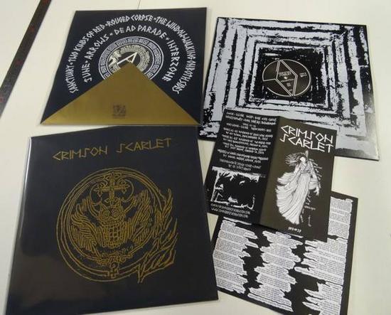11/11/2015 : CRIMSON SCARLET - Collection: 2011-2014