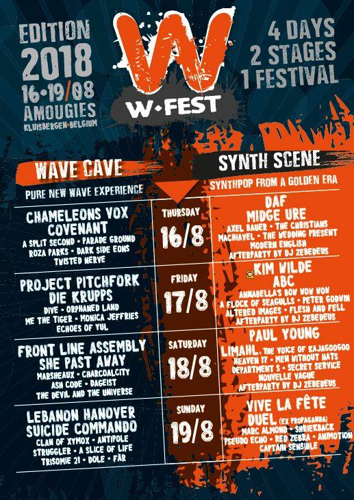 NEWS CONTEST > 'WIN 5 COMBI-TICKETS TICKETS FOR W-FESTIVAL 2018!!!' <