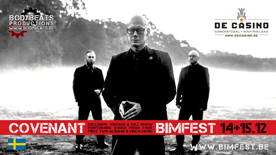 NEWS Covenant to play exclusive vintage and full clubshow at BIMFEST 2018