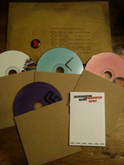 26/05/2011 : VARIOUS ARTISTS - Cryopack