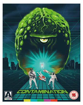 NEWS Cultfilm Contamination -out on DVD and Blu-ray on Arrow Video