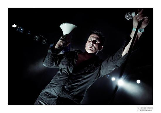 17/09/2015 : DIVE, VOLKOVA, KARL HEFNER & HUGH LAGERFELD - Daft Records Night @ Kavka, Antwerp, 11/09/2015