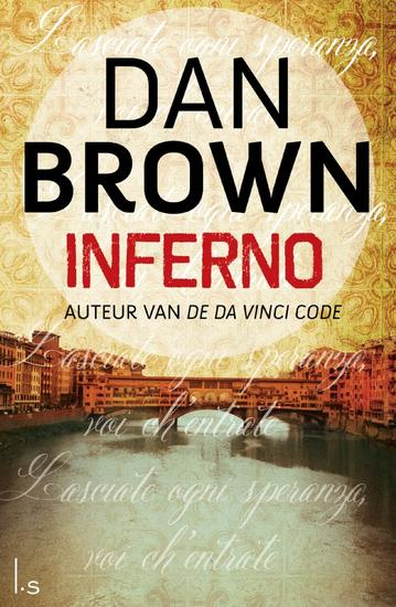 13/07/2015 : DAN BROWN - Inferno