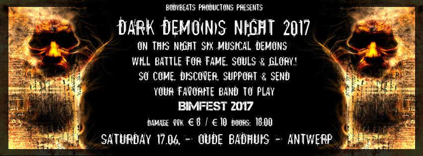 NEWS Dark Demo(n)s wanted to open BIMFEST 2017