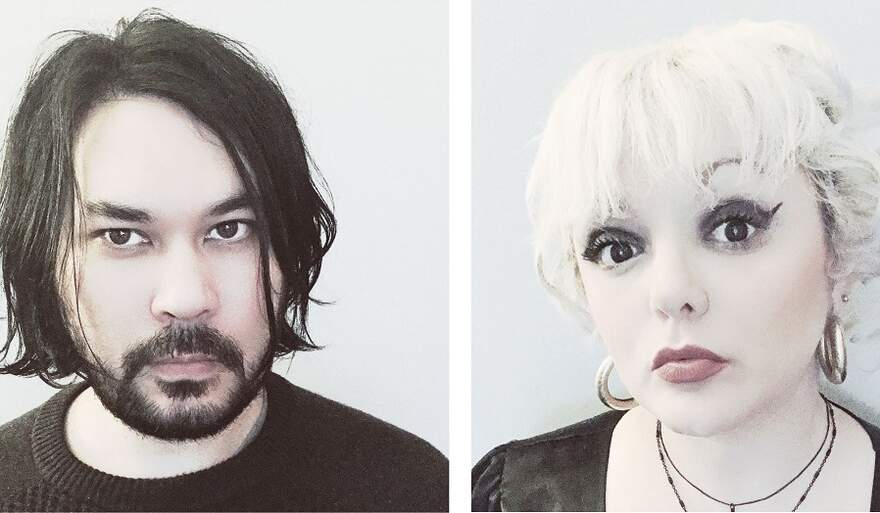 NEWS Darkwave Duo Band HANGING FREUD Speaks Of Loss And Transformation with 'Persona Normal'