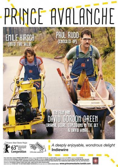 16/05/2014 : DAVID GORDON GREEN - Prince Avalanche