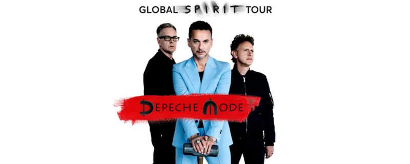 NEWS Depeche Mode announce the first leg of the Global Spirit Tour!