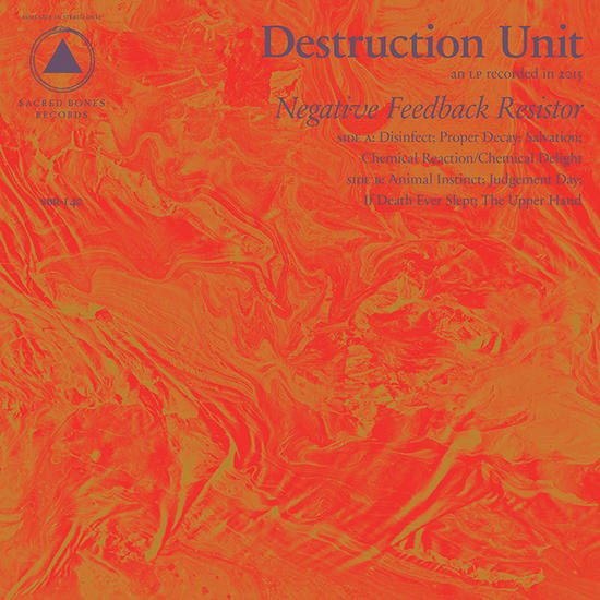 08/11/2015 : DESTRUCTION UNIT - Negative Feedback Resistor
