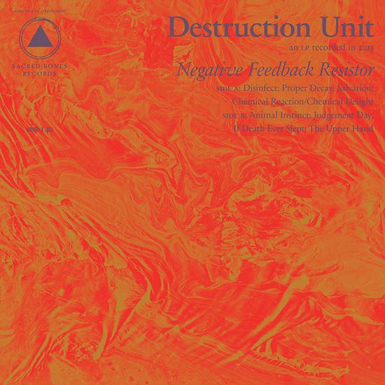 08/11/2015 : DESTRUCTION UNIT - Negative Feedback Resistor