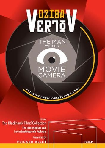 NEWS Dziga Vertov: The Man with the Movie Camera and Other Newly-Restored Works | Four Soviet Masterpieces Coming to Blu-ray