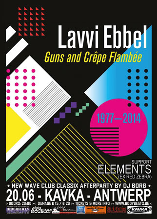 NEWS Elements (Ex-Red Zebra) support Lavvi Ebbel in Antwerp on 20.06