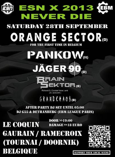 30/09/2013 :  - ESN X - Electric Summer Night 2013 - 28 september 2013