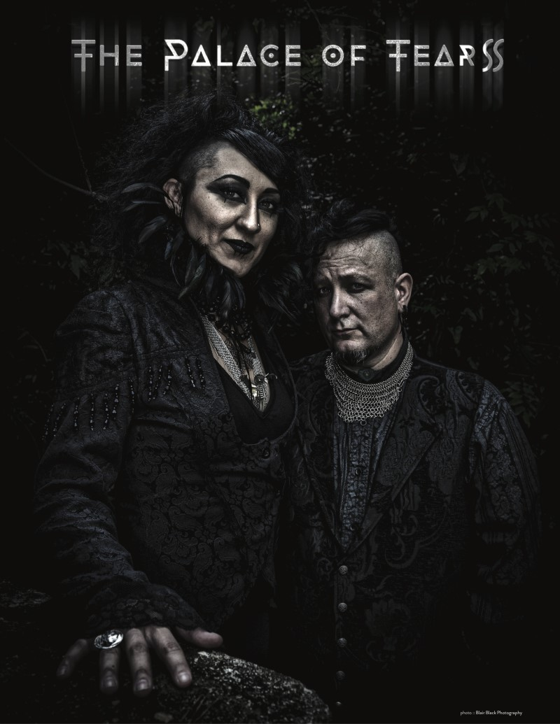 NEWS Ethereal Darkwave Duo THE PALACE OF TEARS Unveils Debut Album 'Of Ruination'