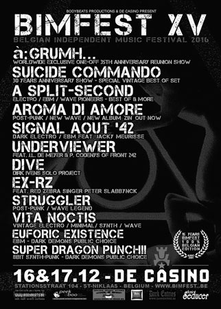 NEWS Euforic Existence and Super Dragon Punch!! Complete BIMFEST 2016 line-up!