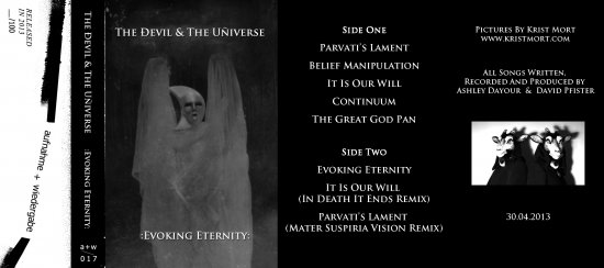 09/05/2013 : THE DEVIL & THE UNIVERSE - Evoking eternity ep