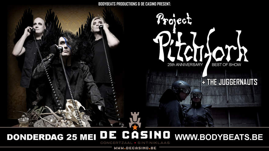 NEWS Tomorrow! May 25th, Exclusive Belgian 'Best Of' Clubshow by Project Pitchfork @ De Casino - St Niklaas