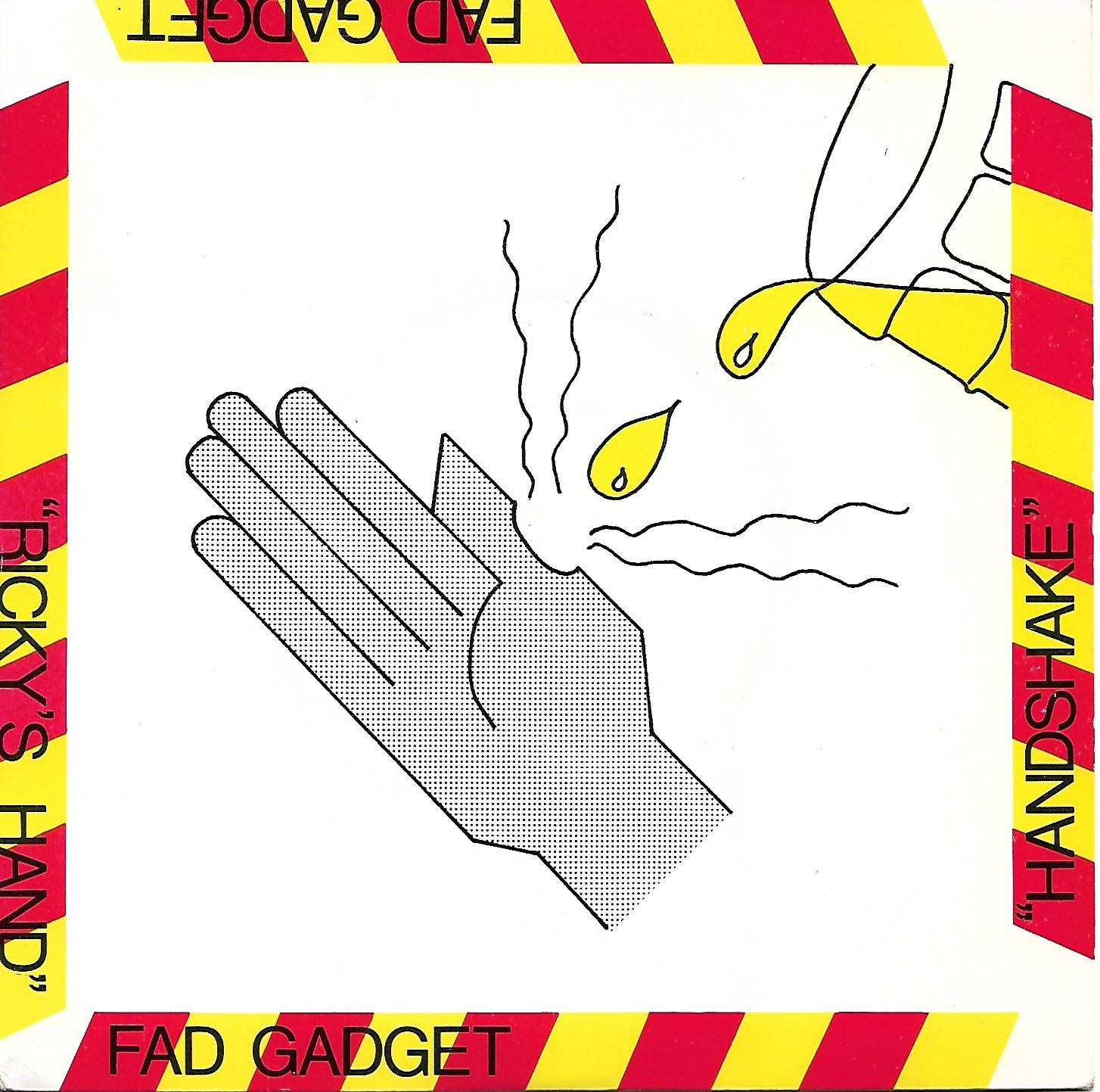 NEWS On this day, 41 years ago, Fad Gadget released his second single 'Ricky's Hand'!