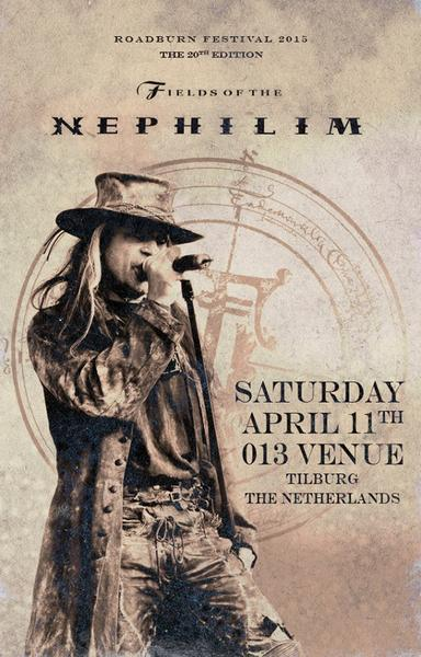 NEWS FIELDS OF THE NEPHILIM at ROADBURN festival