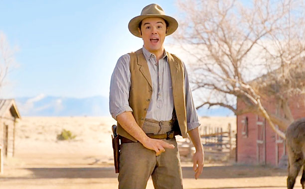 SETH MACFARLANE • A Million Ways To Die In The West • Movie REVIEW ...